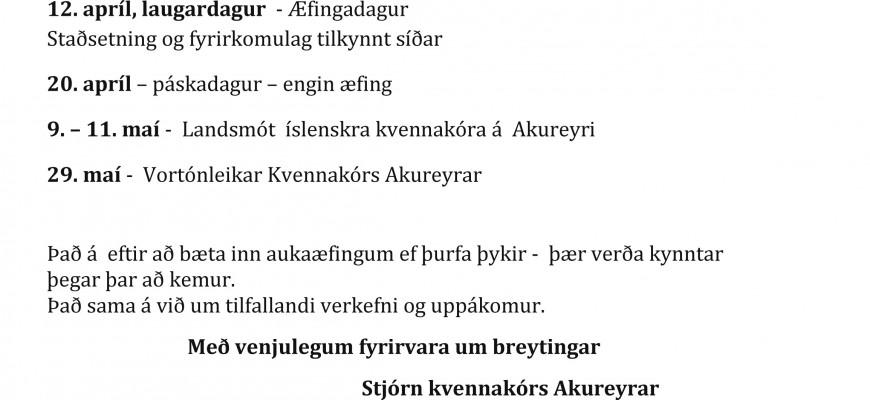Kvennakór Akureyrar - KVAK